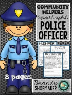 Be a police officer like the girl in Jobs of a Preschooler. Community Helpers Activities, Police Activities, Science Activities, Activities For Kids, Character Education, Kids Education, Preschool Curriculum, Kindergarten, Community Policing