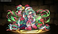 Christmas Tree Spirit, Alraune stats, skills, evolution, location | Puzzle & Dragons Database