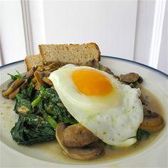 Acelgas e cogumelos com molho de tahini e lima: Um almoço vegetariano, saudável…
