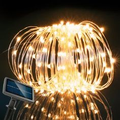 RockBirds Lighting Chain 150 LED String Lights Solar Copper Wire Lights,  Door Molding U0026 Trim, Waterproof Starry Fairy Lighting New Yearu0027s Christmas  ...