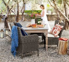 Calistoga Dining Table Outdoor Living