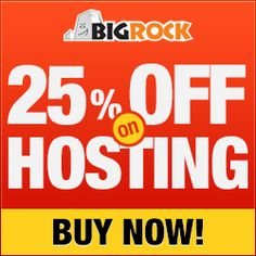 27% off on Web Hosting