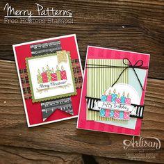 Mercedes Weber @ My Paper Paradise: Stampin Up Artisan Blog Hop- Merry Patterns