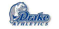 Primary Logo Mark for Drake University Bulldogs Athletics Drake University, College Football, Athletics, Bulldogs, Branding, Logos, Sports, Hs Sports, Brand Management