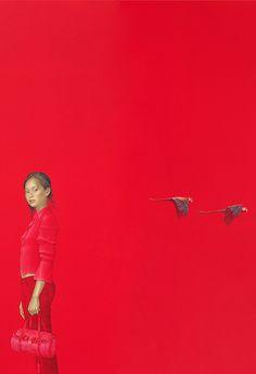 Salustiano Garcia Cruz - Contemporary Artist - Spain - Red