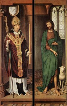 Passion (Greverade) Altarpiece (first closed position) by @artistmemling #northernrenaissance