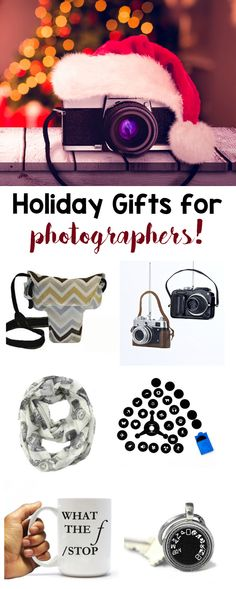 Holiday Gifts for Photographers