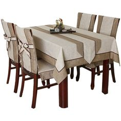 Best 12 Compare Prices on Kitchen Table Chair Covers- Online Shopping/Buy – SkillOfKing. Coffee Table Cloth, Dining Table Cloth, Dining Room Chair Covers, Kitchen Table Chairs, Fabric Dining Chairs, Dining Table Design, Slipcovers For Chairs, Table Linens, Retro Home Decor