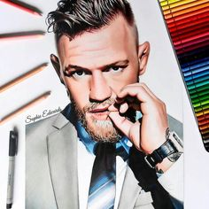 WANT A SHOUTOUT ?   CLICK LINK IN MY PROFILE !!!    Tag  #DRKYSELA   Repost from @creative_a_r_t   Colour pencil drawing of @thenotoriousmma  via http://instagram.com/zbynekkysela
