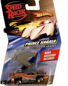 Speed Racer 1:64 Die Cast Hot Wheels Car Prince Kabala with Saw Blades