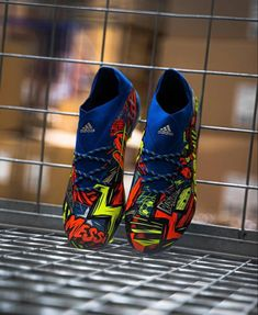 Cool Football Boots, Soccer Boots, Football Shoes, Messi Shoes, Adidas Messi, Messi Logo, Best Soccer Cleats, Adidas Boots, Messi And Ronaldo