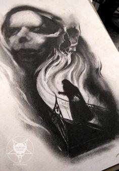ghost by AndreySkull.deviantart.com on @DeviantArt