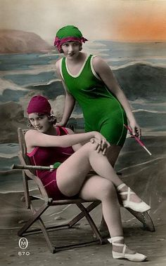 flappers by the sea