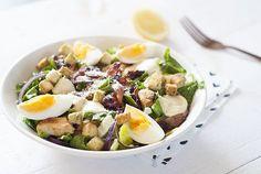 Ceasar salad - Sweet Little Kitchen Ceasar Salad, Cobb Salad, Mayonaise, Expensive Taste, Little Kitchen, Cinnamon Cream Cheeses, Restaurant, Fall Desserts, Pumpkin Spice