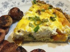 One of many Crustless Quiche combinations enjoyed by guests.