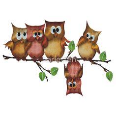 Owls - crashed