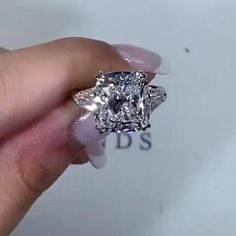 Dainty Engagement Rings, Vintage Style Engagement Rings, Designer Engagement Rings, Big Wedding Rings, Wedding Ring Bands, Wedding Jewelry, Forever Diamonds Ny, Gem Diamonds, Crystal Jewelry