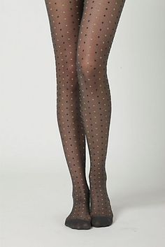 dotted tights- oh yes! $18