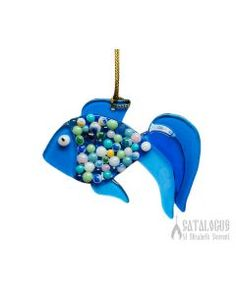 Sea Fish.  $7.00. #CatalogOfGoodDeeds #CatalogOfStElisabethConvent #gift #present #giftideas #decor #craft #woodencraft #ceramic #clay #bell #ecotoy #decoration #feast #giftsfriend #uniquegifts #homemadegifts