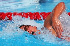 Ranomi Kromowidjojo of the Netherlands competes during the Swimming Women's 100m Freestyle semi final on day thirteen of the 15th FINA World Championships at Palau Sant Jordi on August 1, 2013 in Barcelona, Spain.