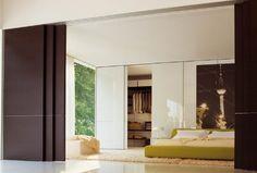privacy sliding doors for the home Convierte tu casa en un Loft con estas Puertas corredizas