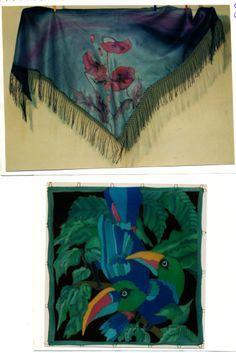 zijdensjaals, 90x90cm / 120x120cm