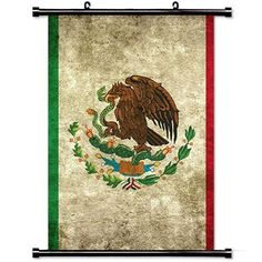 Home Decor Mexico Flag Fabric Wall Scroll Poster 24 X 36 Inch 60cm X 90 cmNukka Fashion Posters ** Click image for more details.Note:It is affiliate link to Amazon. #shoutout