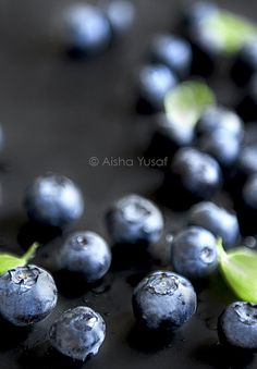 ~~ Fresh Blueberries by aisha.yusaf~~
