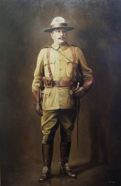 """"""" SAM STEELE """" Darren Haley... January 5, 1849 - January 30, 1919 One of the first members of the North-West Mounted Police, Steele was responsible for defending the construction route of the Canadian railway."""