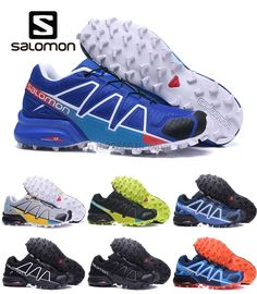 73a52d87e0f86 Salomon Men Shoes SpeedCross 4 GTX W Outdoor Sport Sneakers Breathable Cross -country Running shoes Wear-resistant shoes