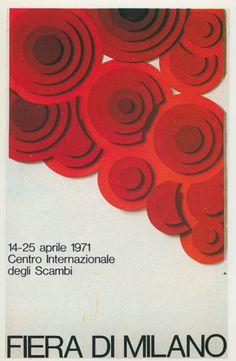 manifesto ufficiale della Fiera Campionaria di Milano, Studio CBC 1971