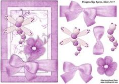 Dragonfly 'n Bloom Step By Step Card Front