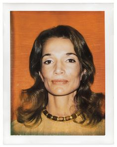 Polaroid taken by Andy Warhol in 1972 The Real Lee Radziwill - Interactive Feature - T Magazine