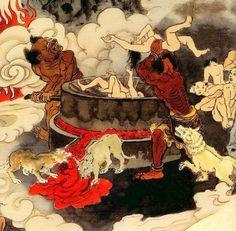 Buddhist Hell Paintings