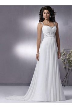 another wedding dress with straps