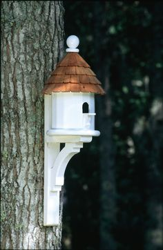 Good Directions Lazy Hill Farm Shingled Birdhouse & Reviews | Wayfair