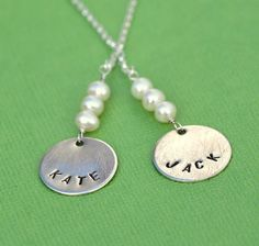 I love the necklace! with boyfriend/girlfriend names
