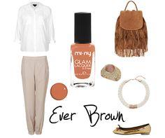 EVER BROWN Una tonalità di marrone chiaro tendente all'arancione!  SHOP ONLINE - Acquista Online http://www.minyshop.com/it/marrone/152-ever-brown.html   #miny #nailpolish #smalto #nails #glamour #fashion #madeinitaly #noanimaltesting #brown