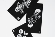don't PLAY with LIFE | 48 CARDS TO TALK ABOUT LIFE AND DEATH  IDEA: create a card game based on the traditional deck, where all the symbols and characters that constitute the starting point for a conversation about social problems | Mortis Design
