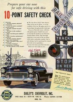 Vintage Advertisements, Vintage Ads, Vintage Graphic, Vintage Photos, Montreal Canadiens, 1956 Chevy Bel Air, 1955 Chevrolet, 1955 Chevy, Classic Cars