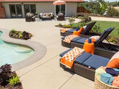 In one of the most dramatic — and expensive — transformations seen on Flip or Flop yet, this Riverside, Calif., mini-mansion goes from a boring blank slate to boasting one of the most beautiful backyards we've seen.