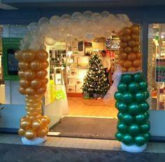 Cómo hacer Arcos con Globos - Decoración con Globos : Fiestas y todo Eventos