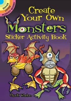 Create Your Own Monsters Sticker Activity Book (Dover Little Activity Books Stickers) Price:$1.5