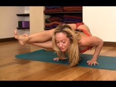 Yoga for Upper Body, Easy Arm Balance Astavakrasana with Kino MacGregor