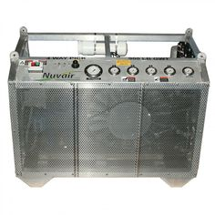 Nuvair MCH30-36 Electric Open Frame Horizontal High Pressure Compressor - Pro-Diving Services