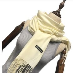 274ce84ca684 Cashmere scarves with tassel