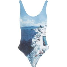 Orlebar Brown Roc Pool Photographic Signature Cutaway One-Piece