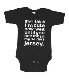 d84579a17 Oakland Raiders Inspired Onesie