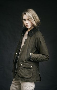 Barbour Ladies Bedale Jacket, Olive - fall/winter 2012