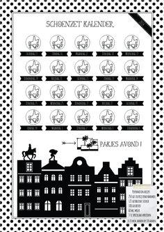 Schoenzet Kalender 2014 ! Sinterklaas ideetjes nodig ? Kijk op de website voor nog meer Sinterklaas inspiratie !